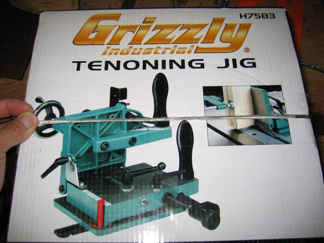 Grizzly Tenoning Jig Box